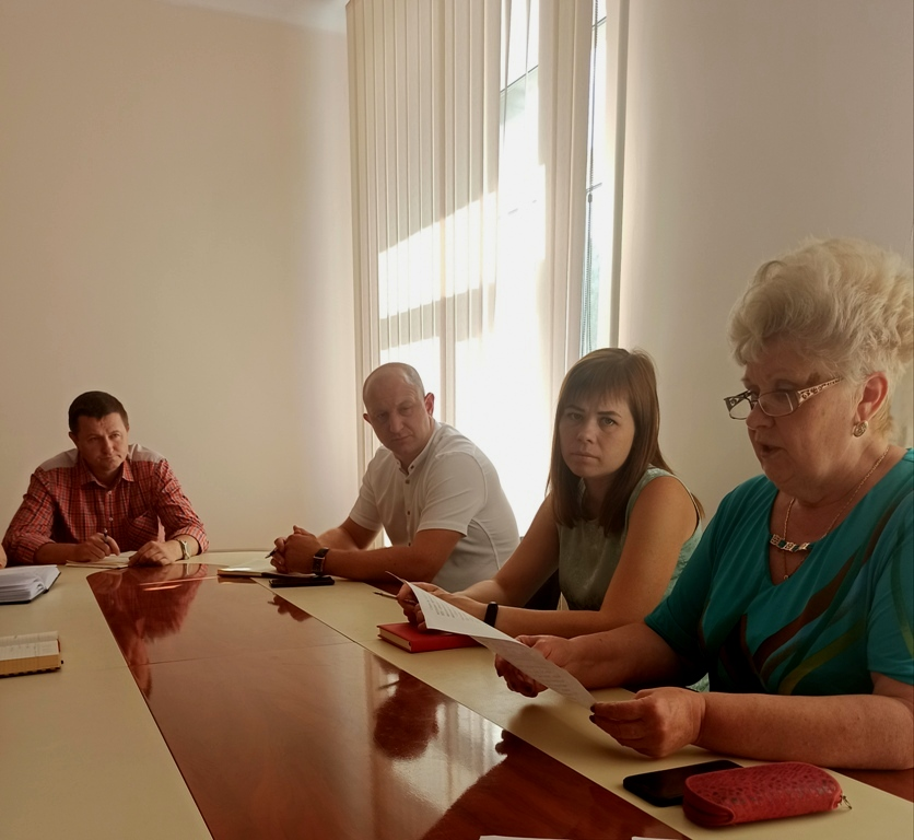Засідання комісії з питань призначення (відновлення) соціальних виплат внутрішньо переміщеним особам.
