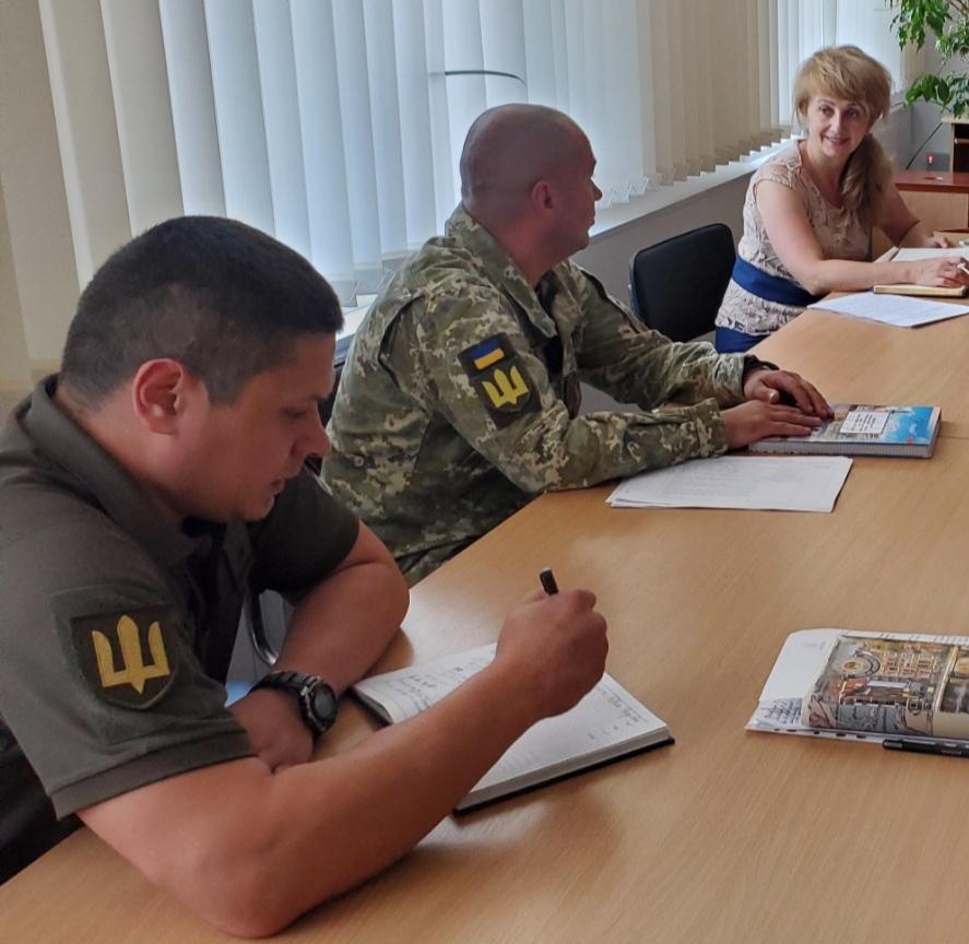Відбулась нарада з питань територіальної  оборони