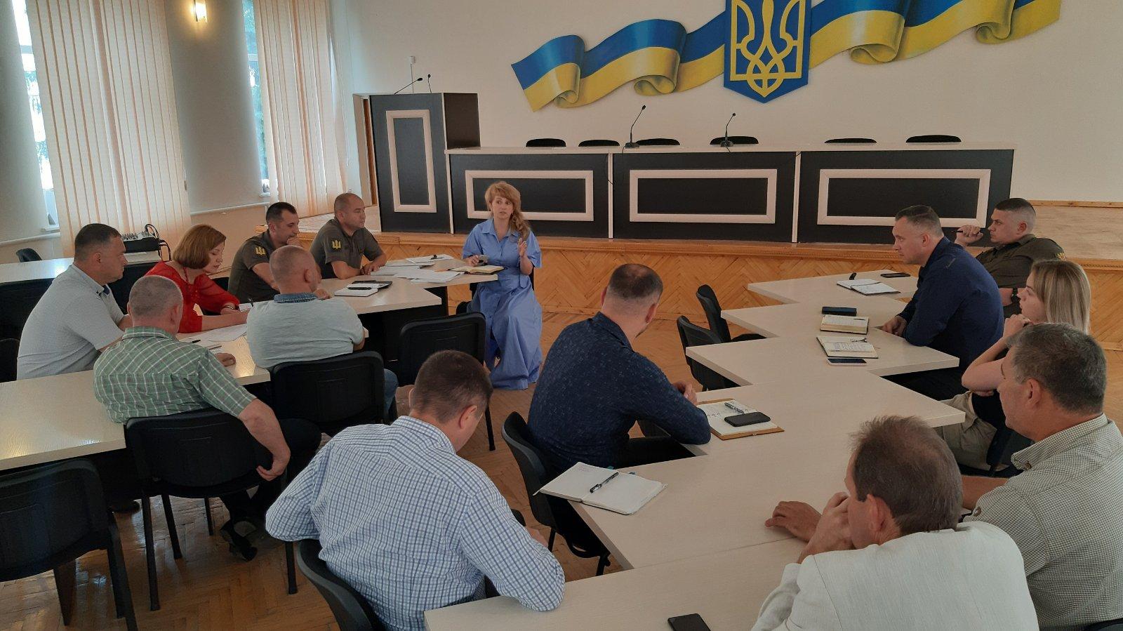 Відбулася нарада з питань підготовки до проведення навчальних зборів з територіальної оборони