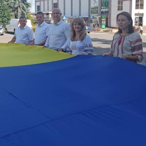 Святкові урочистості з нагоди вшанування Дня державного прапора України