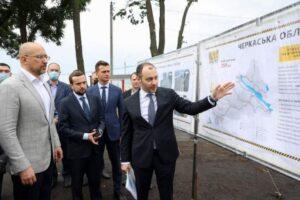 За два роки «Велике будівництво» на Черкащині охопило більше автошляхів, ніж за попереднє десятиліття, — Денис Шмигаль