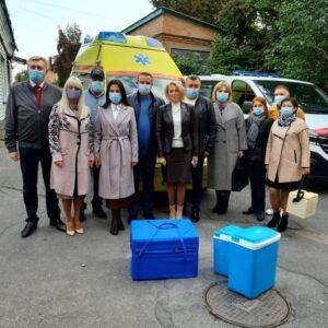 Сергій Борзов: Дев'ять лікарень Вінниччини отримали інноваційні ліки проти коронавірусу завдяки благодійній допомозі від США